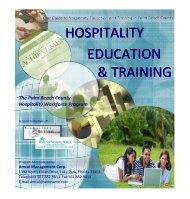 HOSPITALITY EDUCATION & TRAINING - Hotel Force Palm Beach