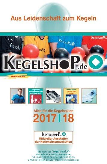 Kegelsaison 2017/2018