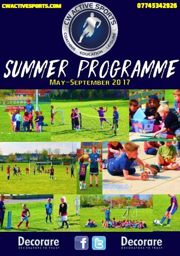 CW Active Sports Summer Programme