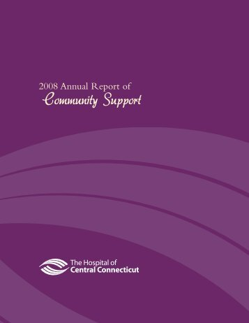 Community Support - The Hospital of Central Connecticut