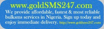 Bulk SMS in Nigeria @ 76koboSMS on GoldSMS247.com