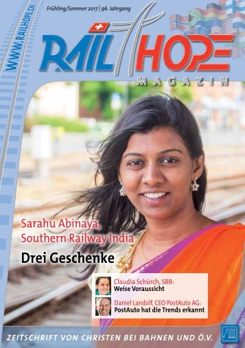 RailHope Magazin 01/17 DE