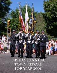 IN MEMORIAM 2009 - Town of Orleans