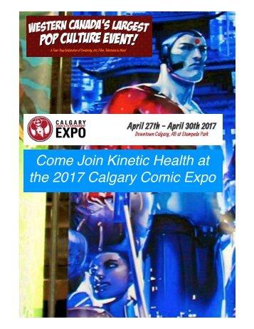 2017 Calgary Comic Expo