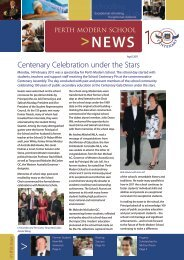 News - Perth Modern School