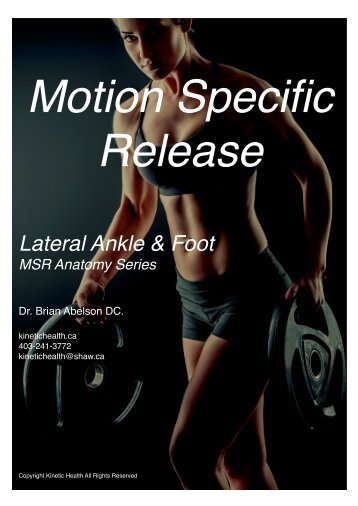 Lateral Ankle & Foot