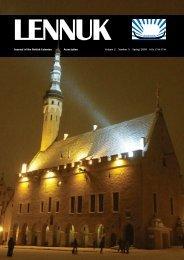 Lennuk Vol 1 No 8 - British Estonian Association