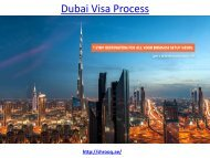 How to get the best Dubai Visa process