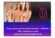 Pune female model services- Amina Khan