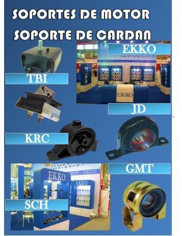 SOPORTE DE MOTOR & CARDAN