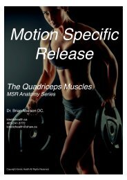 Anatomy and Palpation of the Quadriceps muscles