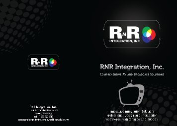 RNR Brochure Pages1&4