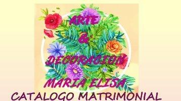 CATALOGO MATRIMONIAL