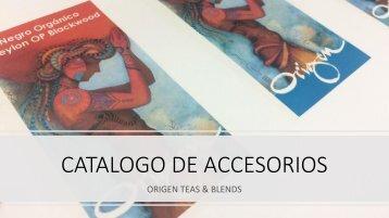CATALOGO DE ACCESORIOS