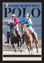 Underberg Polo Magazine 2017