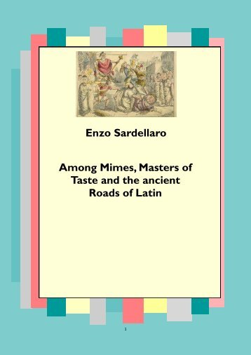 Mimes Masters and Medieval Latin