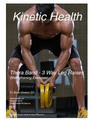 Thera Band -  3 Way Leg Raises