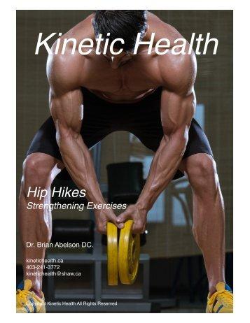 Hip Hikes -  Great Gluteus Medius Exercise