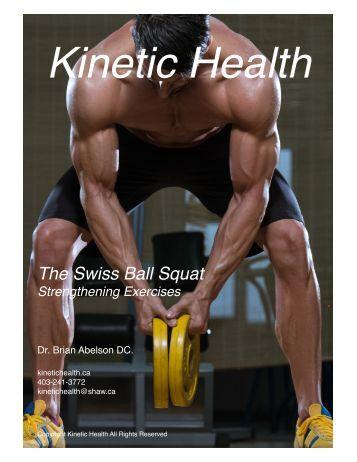 The Swiss Ball Squat