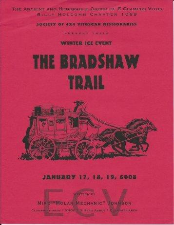 "6008/2003 Winter Vituscan ""Bradshaw Trail"" History Keepsake"
