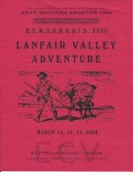 6008/2003 HEMI XVIII Lanfair Valley Adventure