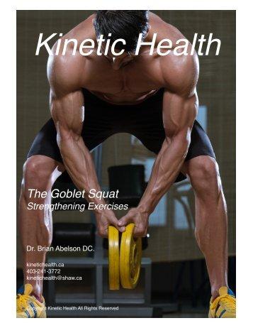 The Goblet Squat