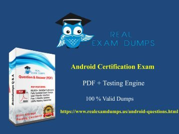 android-exam-dump