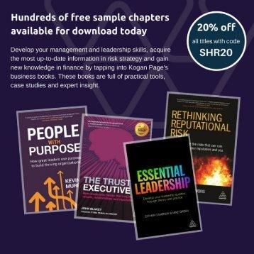 Business, Finance, Risk, Information Management Books – Kogan Page