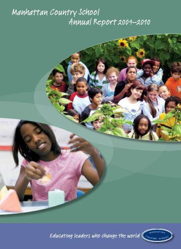 Manhattan Country School Annual Report 2009–2010