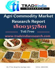 NCDEX Weekly Research Report for 17-21 Apr 2017 by TradeIndia Research