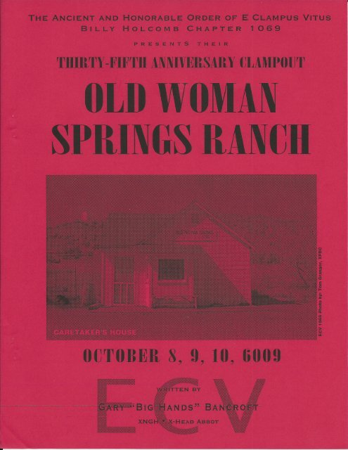 """6009/2004 Fall Clampout \""""Old Woman Springs Ranch\"""""""