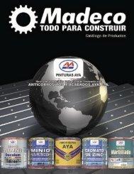 Catalogo de Anticorrosivos AYA