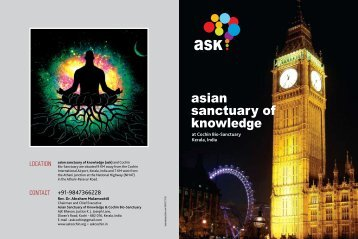 Asian Sanctuary of Knowledge brochure - NEW 11-4-17-2