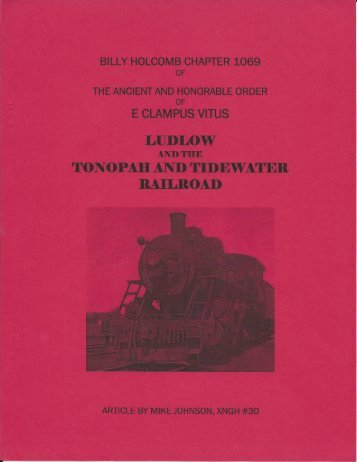 """6012/2007 Fall Clampout \""""Tonopah And Tidewater Railroad\"""""""