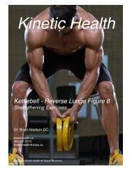 Kettlebell - Reverse Lunge Figure 8