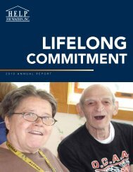 2010 Annual Report - The Help Foundation
