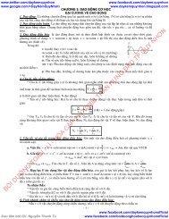 Tài liệu ôn thi quốc gia trắc nghiện môn Lý Hóa Sinh 12 (Dạy Kèm Quy Nhơn Official sưu tầm và giới thiệu)