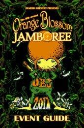 Orange Blossom Jamboree 2017 Event Guide