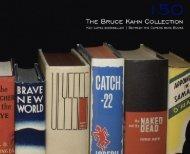 The Bruce Kahn Collection - Ken Lopez Bookseller