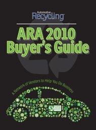 ARA 2010 Buyer's Guide ARA 2010 Buyer's Guide