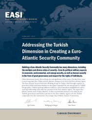 Addressing the Turkish Dimension in Creating a Euro- Atlantic ...
