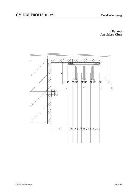 Schiebesysteme für Fassaden - Produktkatalog