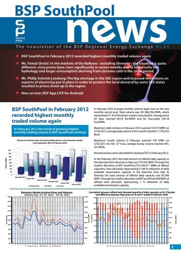 BSP SouthPool News March 2012