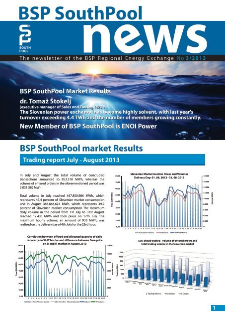 BSP SouthPool News September 2013
