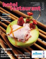 Hotel Restaurant  Magazine Nisan 2017 Sayısı