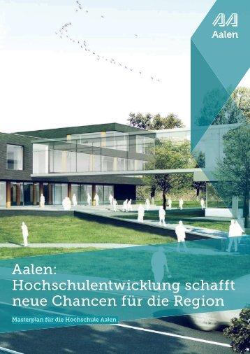 Broschüre - Masterplan Hochschule