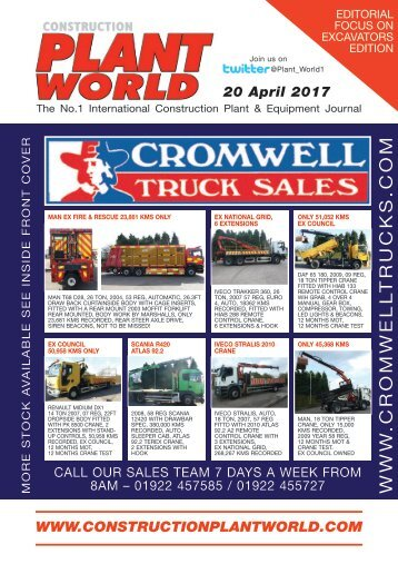 Construction Plant World 20th April 2017