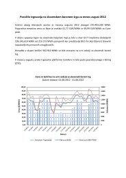 Poročilo trgovanja avgust 2012