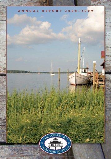 annualreport 2 0 0 8 - Chesapeake Bay Maritime Museum