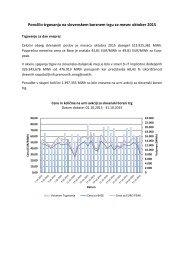 Poročilo trgovanja oktober 2015